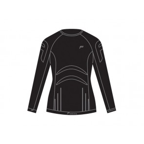 Koszulka damska FUSE ALLSEASON Megalight 200 długi rękaw / M czarna