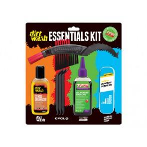 Zestaw czyszcząco-naprawczy WELDTITE DIRTWASH ESSENTIALS KIT łatki + łyżki + olej + odtłuszczacz + szczotka