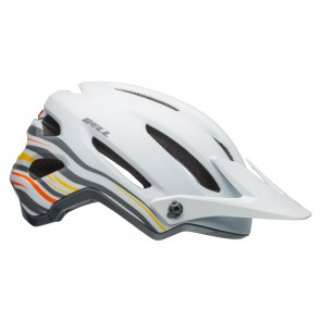 Kask mtb BELL 4FORTY rush matte gloss white orange roz. L (58-62 cm) (NEW)