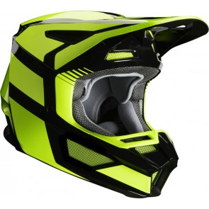 Fox Kask V-2 Hayl Flo Yellow