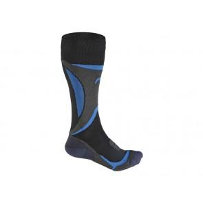 Skarpety zimowe FUSE SKIING TEC A 100 męskie / 47-49 czarno-niebieskie