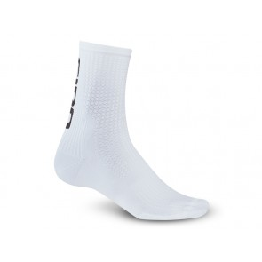 Skarpety GIRO HRC TEAM white black roz. M (40-42) (NEW)