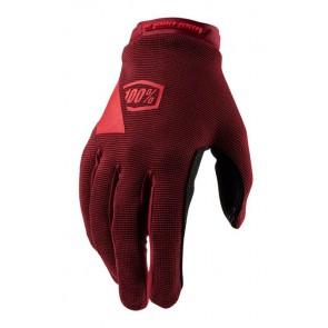 Rękawiczki 100% RIDECAMP Womens Glove brick