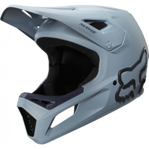 FOX Kask Rowerowy  Junior Rampage Light Blue/Navy