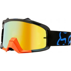 Gogle Fox Air Space Preme Black/yellow - Szyba Orange Spark + Clear (2 Szyby W Zestawie)