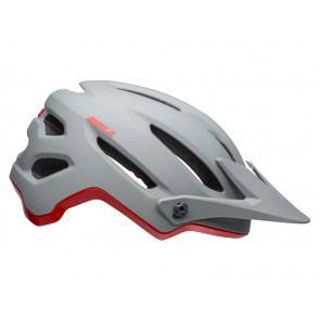 Kask mtb BELL 4FORTY cliffhanger matte gloss gray crimson roz. XL (61-65 cm) (NEW)