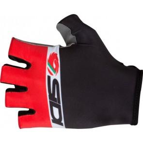 Rękawiczki DINO TRE czarno-czerwono-białe L