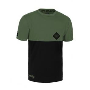 Jersey ROCDAY Double czarny/zielony