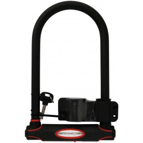 Zapięcie rowerowe MASTERLOCK 8196 U-LOCK 16mm 140mm 250mm KLUCZYK czarne (DWZ)