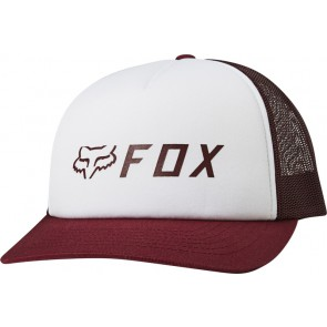 Czapka z daszkiem FOX Lady Apex Trucker cranberry