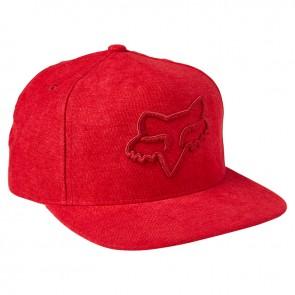 Czapka z daszkiem FOX Instill Snapback 2.0 OS czerwony