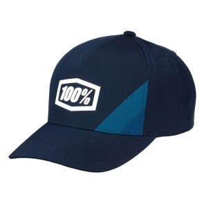 Czapka z daszkiem 100% CORNERSTONE X-Fit Snapback Hat Navy (NEW)