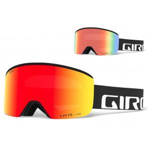 Gogle zimowe GIRO AXIS BLACK WORDMARK (Szyba lustrzana kolorowa VIVID-Carl Zeiss VIVID EMBER 37% S2 + Szyba lustrzana kolorowa VIVID-Carl Zeiss INFRARED 62% S1)