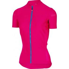 Castelli Koszulka kolarska Promessa 2, różowo-niebieska, rozmiar S