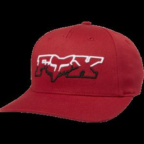 Czapka Z Daszkiem Fox Junior Duelhead Flexfit Cardinal Yos