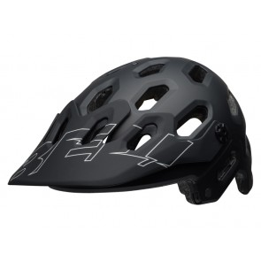 Bell 2018 Super 3 kask matte black white