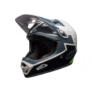 Bell 2018 Transfer-9 kask gloss pear lead silver revolution-M