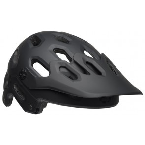 BELL SUPER 3 matte gloss black gray kask