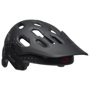 BELL SUPER 3 virago matte black white crimson kask