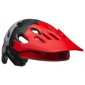 BELL SUPER 3 downdraft matte crimson black kask