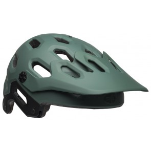 BELL SUPER 3 matte green orange kask