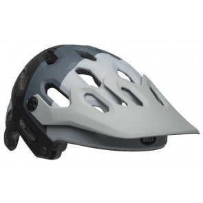 BELL SUPER 3 downdraft matte gray gunmetal kask