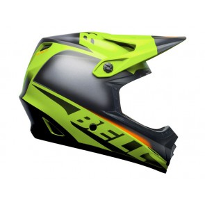 BELL FULL-9 FUSION MIPS matte gloss green black crimson kask