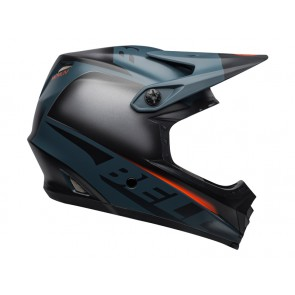 BELL FULL-9 FUSION MIPS matte gloss black slate orange kask