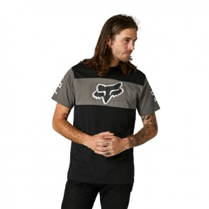 T-shirt FOX Mirer Crew czarny