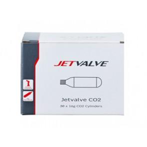 Nabój gazowy WELDTITE JETVALVE CO2 16g pudełko 30szt.
