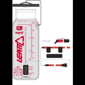 Leatt Bladder Flat CleanTech 2L (70oz) w tube and bite valve