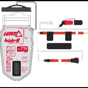 Leatt Bladder Flat CleanTech 0.75L (25oz) w tube and bite valve