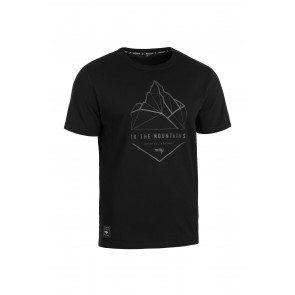 T-Shirt ROCDAY Summit L czarny