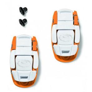 SIDI Klamry CALIPER BUCKLE biało-pomarańczowe