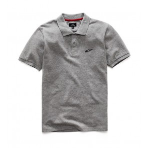 EFFORTLESS POLO GRAY HEATHER M