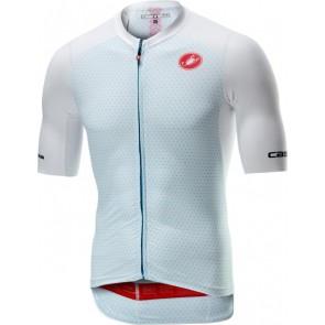 Koszulka kolarska Aero Race 6.0, biała, rozmiar L