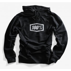 Bluza męska 100% ESSENTIAL Hooded Pullover Sweatshirt Black roz. M (NEW)