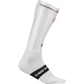 Skarperki kolarskie Fast Feet, białe, rozmiar L/X