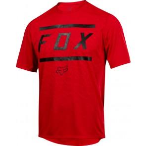 FOX RANGER BARS JERSEY-czerwony-M