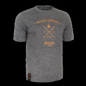 Rocday Koszulka ELEMENT SANITIZED® szary melanż L