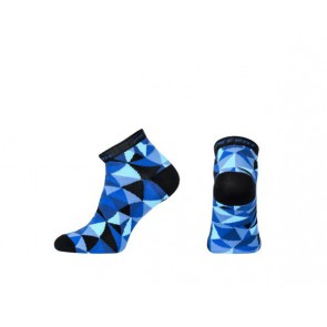 Accent Skarpetki kolarskie Mosaic, niebieskie, M (39-41)
