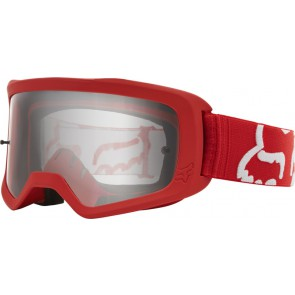 Gogle Fox Main Ii Race Red Os