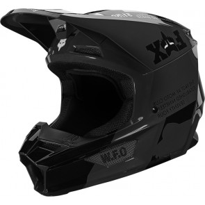 Kask FOX V-1 Illmatik S czarny