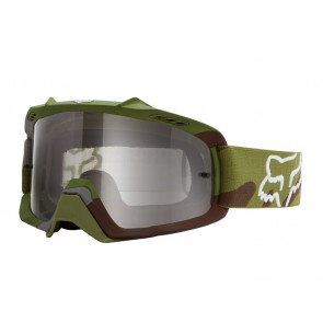 Fox 2016 Airspc Camo Snow Green/Gray Clear gogle
