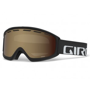 Gogle zimowe GIRO INDEX BLACK WORDMARK (szyba AMBER ROSE 40% S2) (DWZ)
