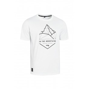 T-Shirt ROCDAY Summit biały