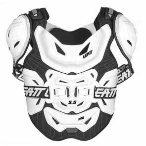 Leatt Chest Protector 5.5 Pro White zbroja