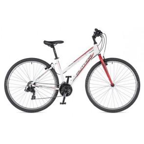 """THEMA 29 17"""" biało/czerwony, rower AUTHOR'19"""