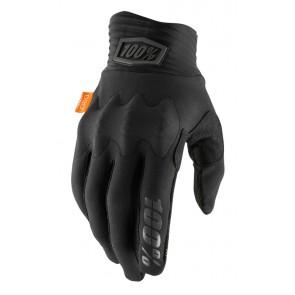 Rękawiczki 100% COGNITO Glove black charcoal roz. S (długość dłoni 181-187 mm) (NEW)