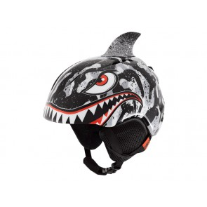 Kask zimowy GIRO LAUNCH PLUS black grey tiger shark roz. S (52-55.5 cm)